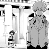 Katsuki Approached By A Injured Izuku