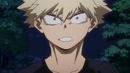 Katsuki surprised by Dark Shadow