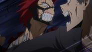 Red Riot vs. Blade Villain