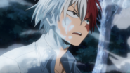 Shoto after attacking Mr. Compress