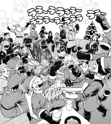 Class 1-A Christmas Party