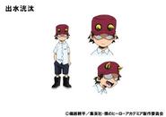 Kota Izumi TV Animation Design Sheet