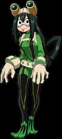 Tsuyu Asui Full Body Hero Costume Anime