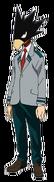Fumikage Tokoyami school profile