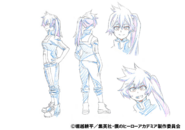 Itsuka Kendo PE Shading TV Animation Design Sheet