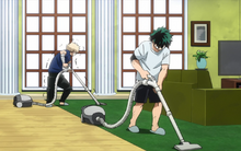 Izuku and Katsuki house arrest