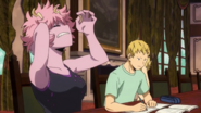 Mina and Ojiro study