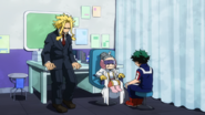 Izuku at Recovery Girl's Nurse's Office