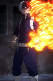 Shoto second costume
