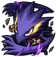 Fumikage Black Ankh Chibi - Monster Strike