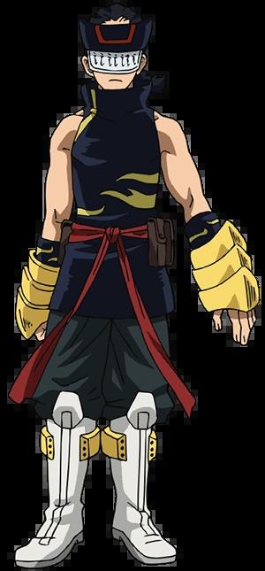 Hiryu Rin traje de héroe
