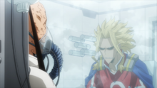 All Might talks to All For One