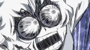 Mina Ashido horrified