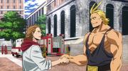 David Shield meets Toshinori Yagi