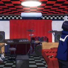 Habitación rockera de Kyoka.