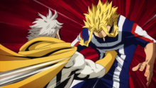 Gran Torino trains All Might