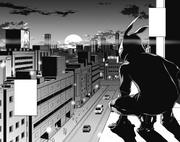 Koichi searching for Kazuho
