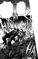 Tomura's painful and gruesome process