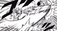 Hojo slashes Tamaki with a crystal sword