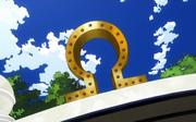 Ground Omega Symbol