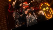 Stain overpowers Shigaraki