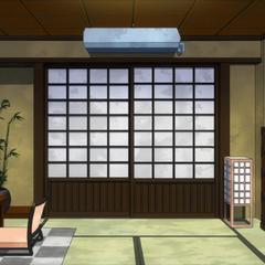 Habitación japonesa de Shoto.
