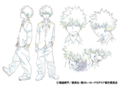 Katsuki Bakugo Shading TV Animation Design Sheet