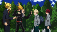 All Might, Present Mic, Katsuki and Shoto