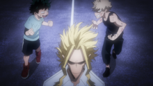Izuku Midoriya and Katsuki Bakugo become true rivals