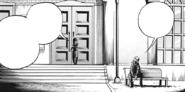 Shota talks with Toshinori Yagi