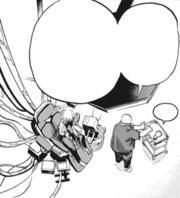 Daruma prepares to operate Tomura Shigaraki