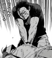 Knuckleduster performing CPR on Tamao Oguro
