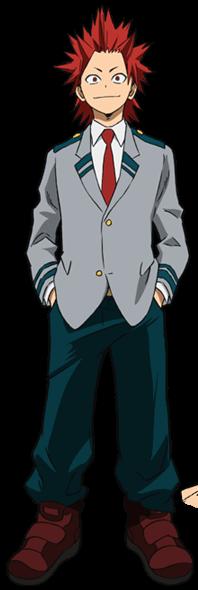 Eijiro Kirishima Uniforme