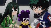 Izuku, Tsuyu y Mineta determinados