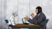 Danjuro Tobita is interrogated