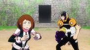 Ochaco, Hanta and Minoru cannot continue facing Nine