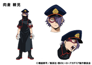 Seiji Shishikura TV Animation Design Sheet