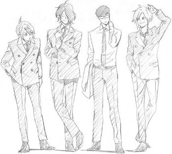 میدنایت بویز (Midnight Boys) مدرسه قهرمانانه من
