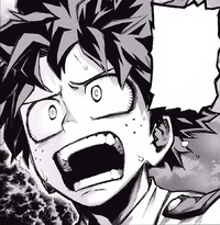 Izuku confronts All Might about Sir and Mirio (Manga)