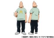 Koji Koda Casual TV Animation Design Sheet