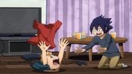 Mirio and Tamaki as children