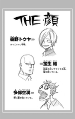 Volume 16 Tabe, Hojo and Setsuno Profiles