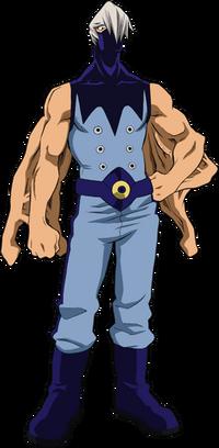Mezo Shoji Full Body Hero Costume