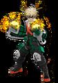 Diseño de Katsuki Bakugo My Hero One's Justice 2