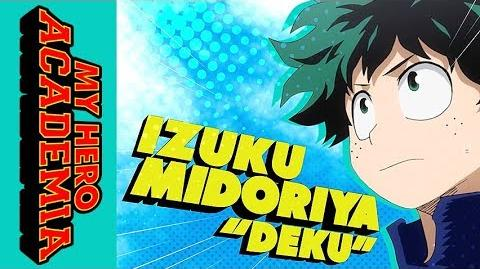 """My Hero Academia - Official Clip - Izuku Midoriya """"""""Deku"""""""" Quirk"""