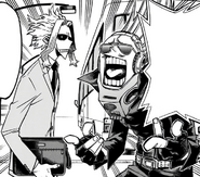 Present Mic and All Might