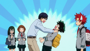 Tenya worried about his classmates