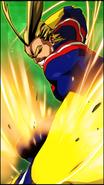 All Might Skill Character Art 4 Smash Rising