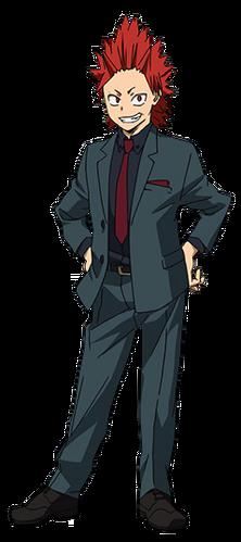 Eijiro Kirishima Boku No Hero Academia Wiki Fandom
