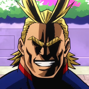 All Might Two Heroes Portrait 2